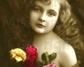 Lovely Victorian Girl Instant Download