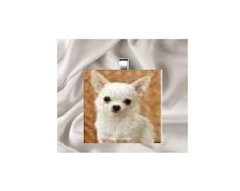 Scrabble Tile Pendant Necklace Animals, Dogs
