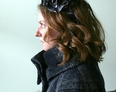 Small Carnation Hat - Large fabric flower on a headband