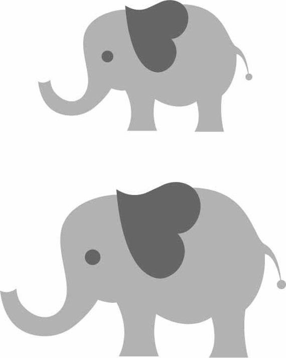 Elephant Baby Instant Download Includes svg eps by ...