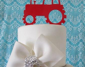 Tractor Cake Topper Etsy Uk
