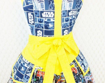 Star Wars Kitchen Apron - superhero comics movies sci-fi apron