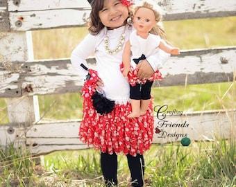 Crochet Pattern, Sweet & Sassy Ruffle Skirt