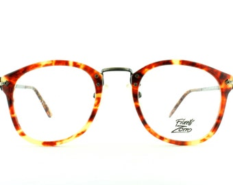Vintage Deadstock 80's N. Y. Designer Optics Fiorelli Zorro COmbo Eyeglass Frames - FREE Domestic Shipping
