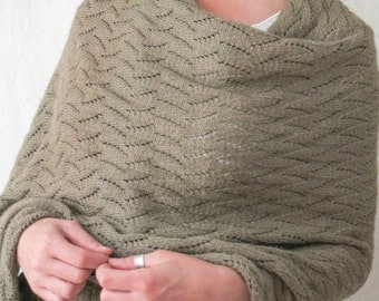 The Wave Stole Knitting Pattern Instant Download