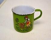German Enamel Cup