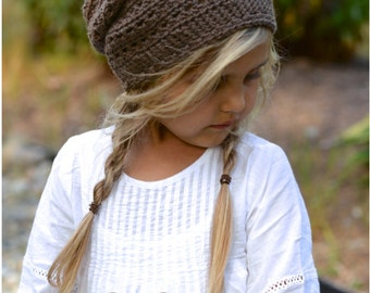 CROCHET PATTERN-The Cade Cap (Toddler, Child, Adult sizes)