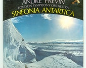 Vaughan Williams Sinfonia Antartica Andre Previn Conducting the London Symphony Orchestra & Sir Ralph Richardson Vintage Vinyl Record RCA LP