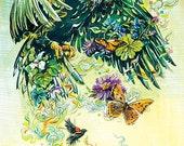 Eagle's Return (big limited edition print)