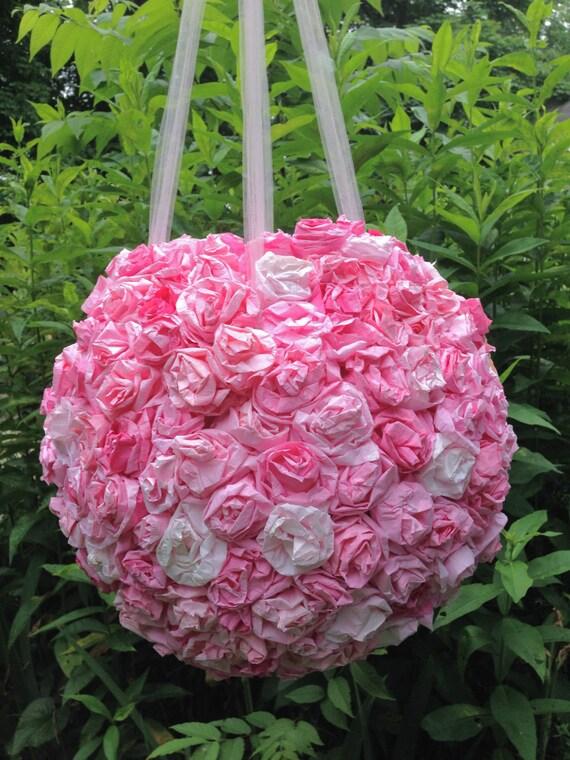 items similar to wedding pinata anniversary pi ata bridal shower pinatas paper flowers. Black Bedroom Furniture Sets. Home Design Ideas