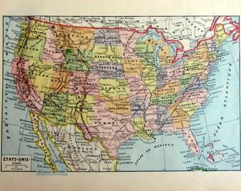 Map Of Us Atlas - Atlas map of us