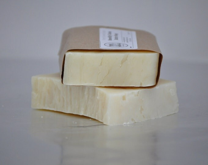 Cocoa Butter Kisses Facial Soap --  All Natural Soap, Handmade Soap, Barely Scented Soap, Hot Process Soap, Vegan Soap, Cocoa Butter Soap