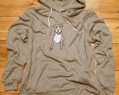 up for anything Pitbull Hoodie, Men's Hoodie, S,M,L,XL, 2XL