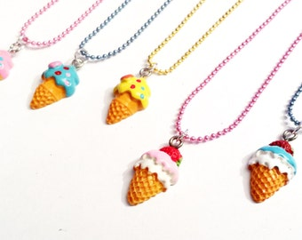 Sale! Ice Cream cone Necklace
