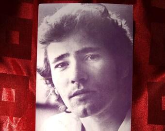 Tim Buckley Post Card Postcard Discreet 1974 Warner Brothers Midnight Special LP Songs Sefronia Allman Brothers Postmark Folk Rock Pop