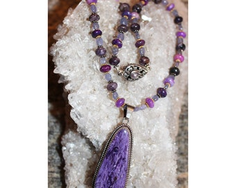 7th Chakra Visionary Violet Necklace