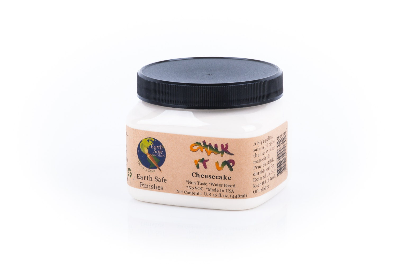 Non Toxic Chalk It Up Acrylic Paint 16 Oz Jar No Voc Water
