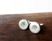 wedding cufflinks, mens accessories cuff links - custom handstamped - tree of life - groom,  Groomsmen Gift
