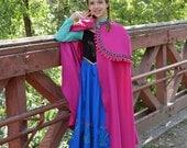 Anna Frozen Costume Dress, Princess Anna Frozen