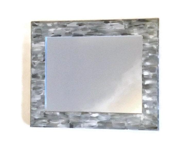 grey themed bathroom mirror shabby chic by