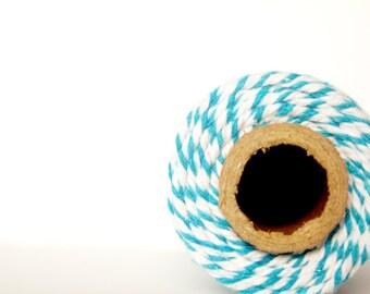 12 PLY Ocean Blue Baker's Twine; Cotton Twine