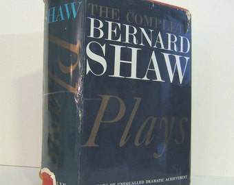George Bernard Shaw — The Complete Plays of Bernard Shaw in One Volume Published by Paul Hamlyn in 1965 Vintage Drama Book