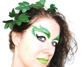 Poison Ivy hair slids bobby pins hair grips poison ivy fancy dress tree people