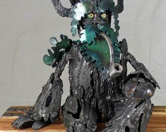 Ent (12in) - Treemen - Steel Sculpture