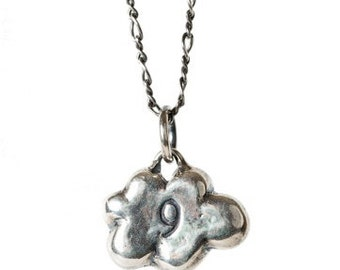 Cloud 9 Necklace - Cast in Sterling Silver