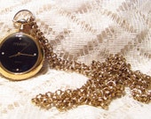 Vintage Joan Rivers Watch Pendant with Chain