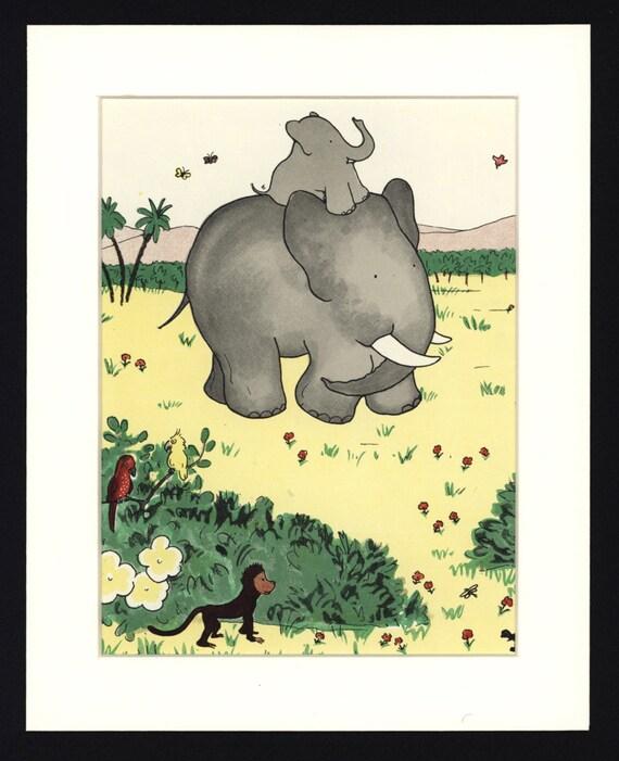 Babar Elephant Room Decor