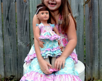 Lily's Lovely Apron Romper PDF Pattern for 15- and 18-inch Dolls