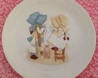 1981 Holly Hobby Collector's Plate