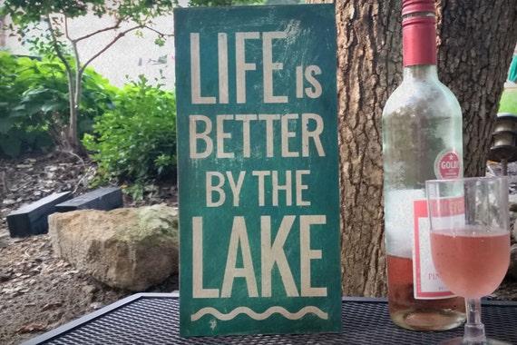 Lake Sign Interior Design Worthy Sauls Creative
