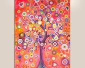 Tree of Love - Giclee Print on Stretched Unstretched canvas Paper print
