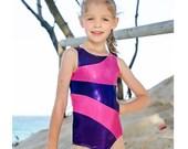 Leotard pattern Leotards 8 pdf sewing pattern rainbow stripe leotard gymnastics gym  ballet dance girls sizes 2-14