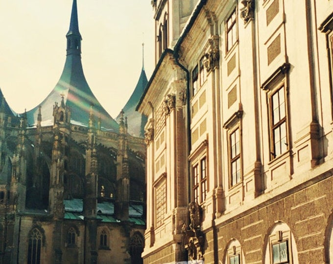 Praha, Kunta Hora, St. Barbara Cathedral Wanderlust Photograph for Travel Lovers - 4 sizes available
