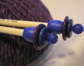 Wooden Knitting Needles...Size US 9