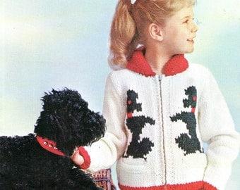 Patons Knit Pattern Etsy