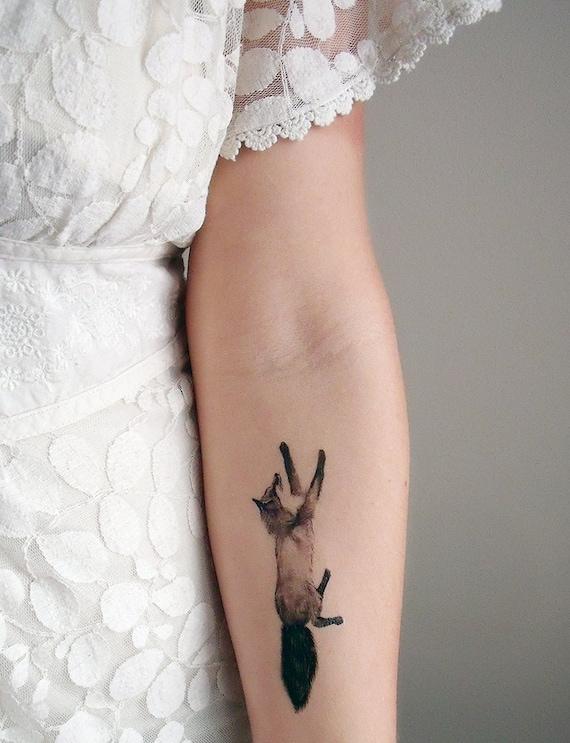 tempor re tattoos fuchs und hase beinhaltet 2 tattoos. Black Bedroom Furniture Sets. Home Design Ideas