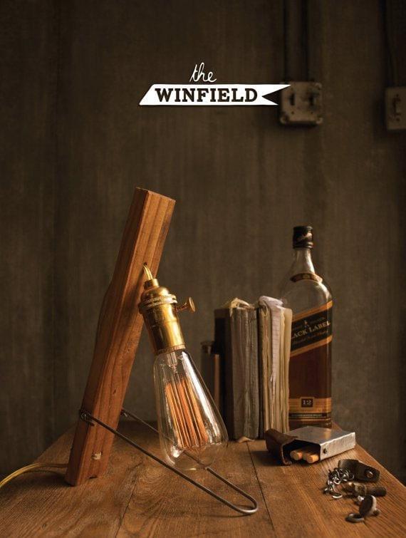 Edison Lamp Table Lamp Desk Lamp Cool Gifts For Men Lean