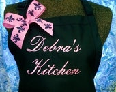 Personalized Apron Gourmet Kitchen Christmas Gift