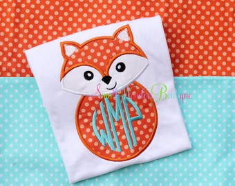 What Does The Fox Say Embroidered Shirt - Fox Shirt - What Does The Fox Say - Boy Fox Shirt - Fox Shirt - Fox - Boy Fox - Fox Box Shirt