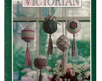 A Touch Of Victorian / Crochet Pattern Book / Leisure Arts Leaflet 2255