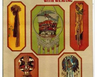 Macrame Wall Hangings with Weaving Pattern Book HA 47
