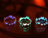 """GLOW in the DARK """"Hearts Ring"""""""