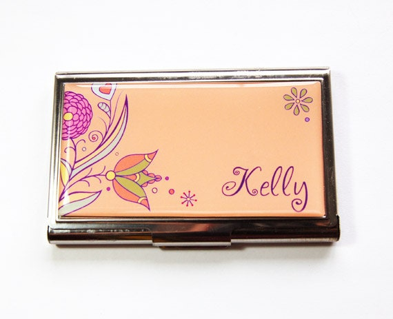 Personalized Business Card Case Custom Case Personalized