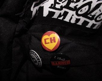 """El Chapulín Colorado 1.25"""" Pinback Button"""