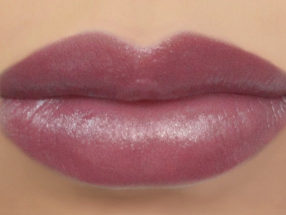 Vegan Lipstick Plum Fairy natural light plum