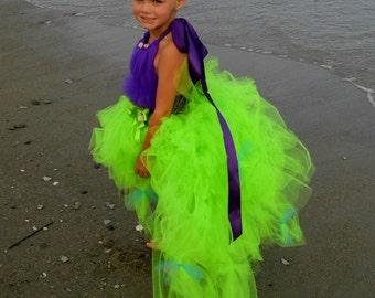 Princess Ariel - Mermaid Tutu Dress size 12-18m, 18-24m, 2t, 3t, 4t, 5t, 6